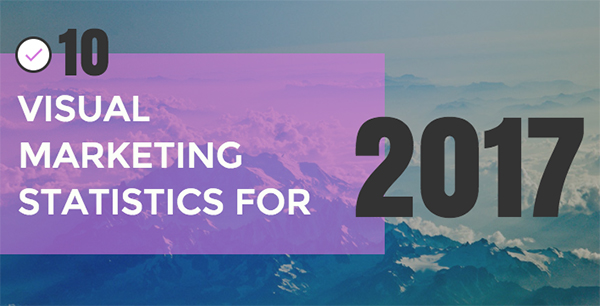 Going Visual in 2017 10 Visual Content Marketing Stats You Need to Know [Infographic]